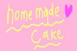 自家製ケーキタイトル